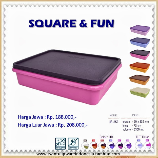 Square & Fun Tulipware 2013