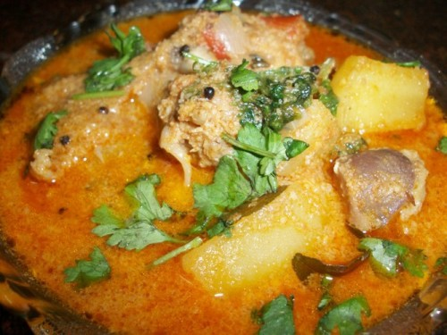 Aloo Chicken Curry