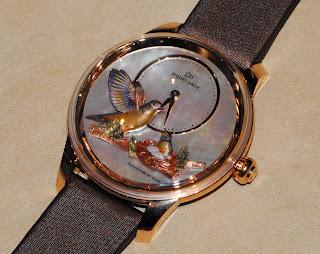 Montre Jaquet Droz Petite Heure Minute Relief Oiseaux référence J005023571