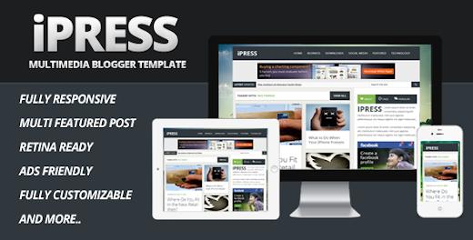 IPress Seo Blogger Template
