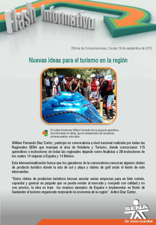 Regional norte de santander nuevas ideas para el turismo for Oficina de correos santander