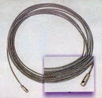 Instalaciones eléctricas residenciales - guía de cable de acero