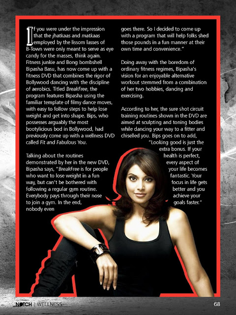 Bipasha Bassu NOTCH Magazine