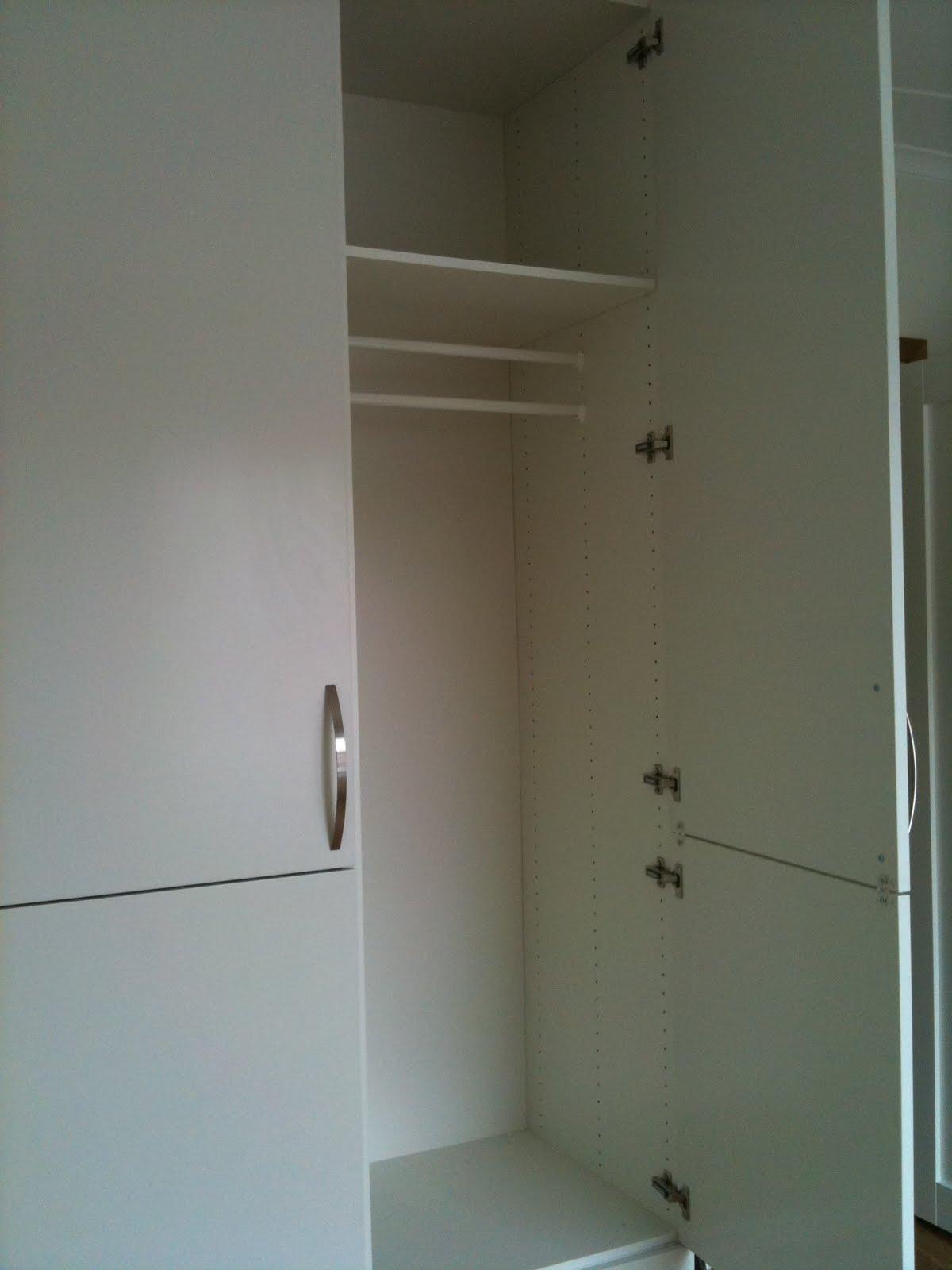 MariaYogini Göra om garderober till pappersförvaring