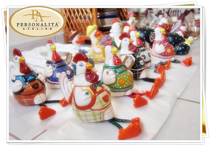 Personalit atelier galinhas galos patos Gea ceramica artesanal