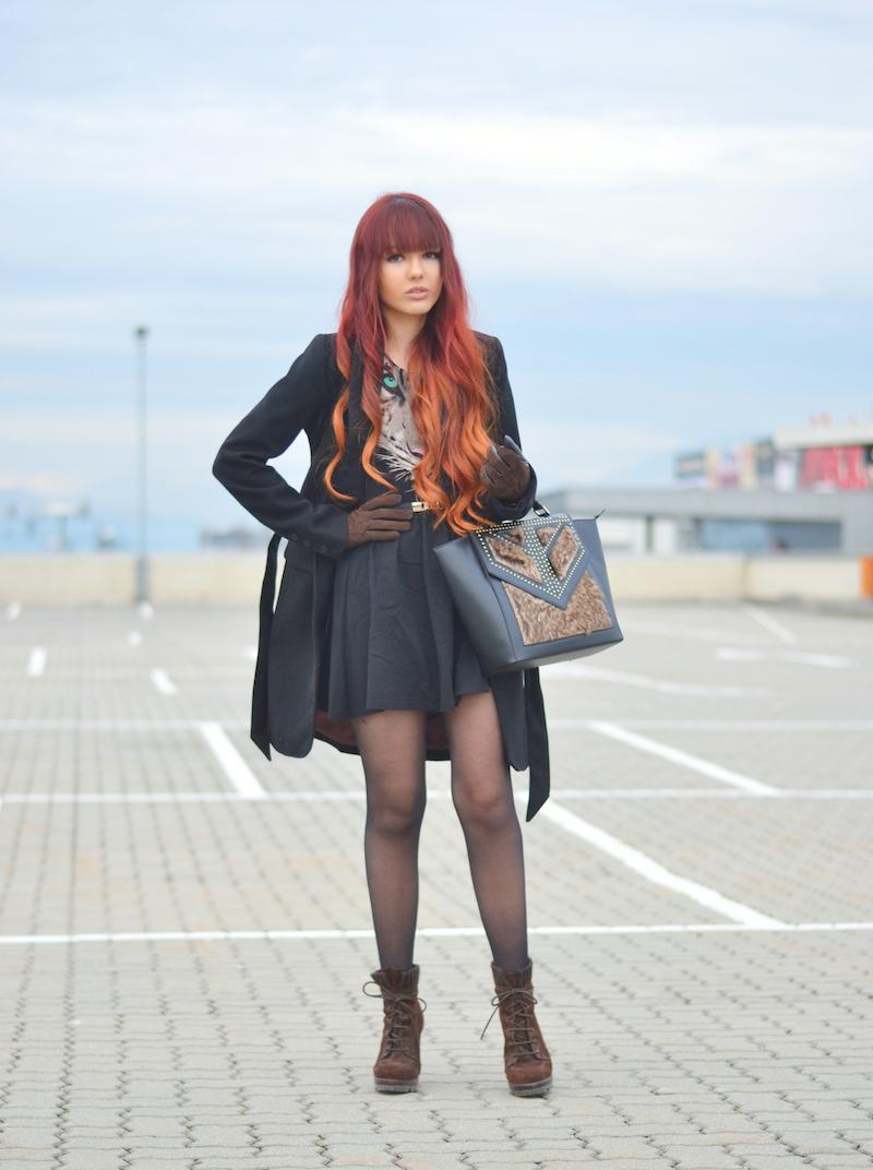 Outfit_Kleid_Tigerprint_Tigerkopf