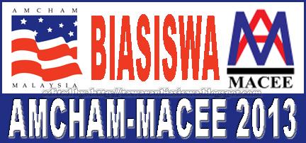 Tawaran Biasiswa AMCHAM-MACEE | Scholarship