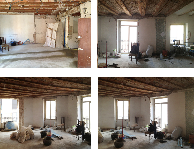 Casa reformadas antes y despues perfect la casa de karen for Ideas para reformar un piso viejo