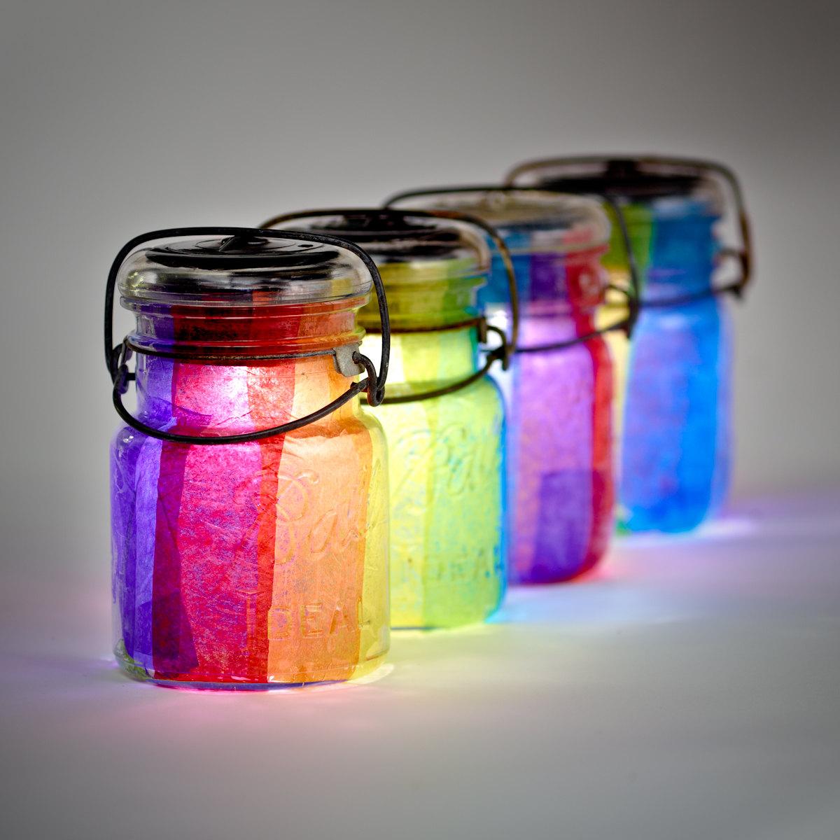 the junk revival jars of glass. Black Bedroom Furniture Sets. Home Design Ideas