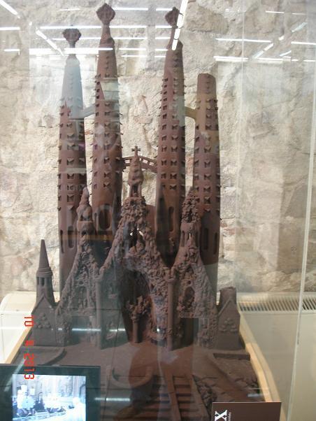 Muzeul Ciocolatei din Barcelona