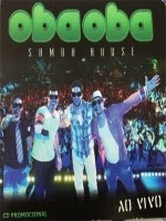 capa Download  Oba Oba Samba House   Cd Promocional  2013