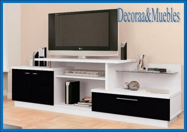 Muebles para tv led y equipo de musica - Muebles para equipos de musica ...