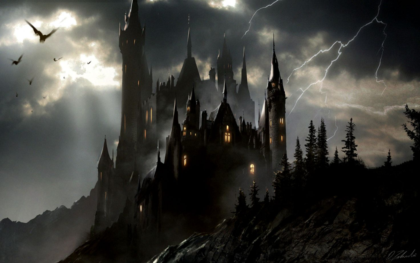 castle concept art by - photo #25
