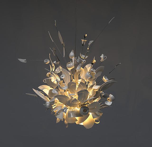 korzen is in the garden ingo maurer luminaires. Black Bedroom Furniture Sets. Home Design Ideas