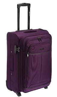 Safari Spartan Polyester 65 cms Purple Softsided Suitcase