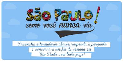 Concurso Cultural - São Paulo como você nunca viu