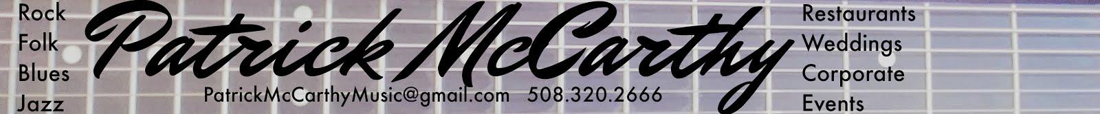 Patrick McCarthy Music