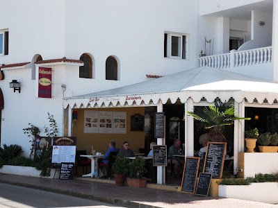 Cafe in es Canar, Ibiza