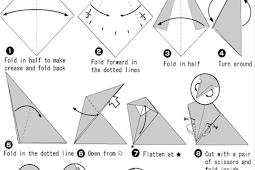 Keterampilan Origami atau Seni Melipat Kertas