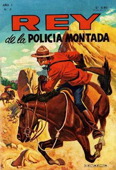 REY DE LA POLICIA MONTADA Nº 003