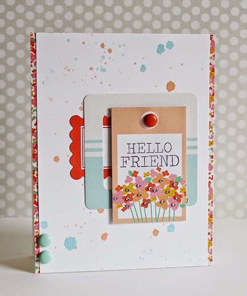 Erin Taylor Chickaniddy Crafts Color Challenge card