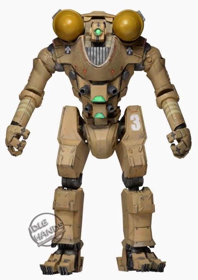 ROBOT PACIFIC RIM JAEGER GIPSY DANGER BATTLE DAMAGE NECA REELTOYS HASBRO  MEZCO