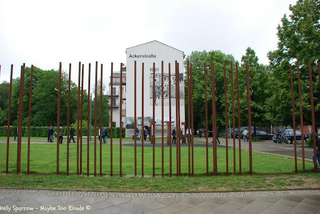 Bernauer Strasse, East Berlin, Berlin Wall Memorial, Germany