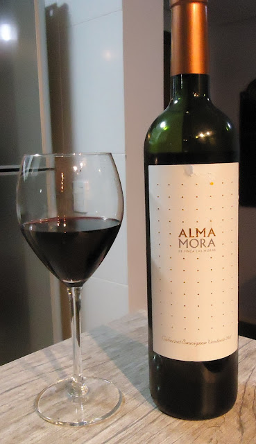 vinho, Alma Mora, Cabernet Sauvignon