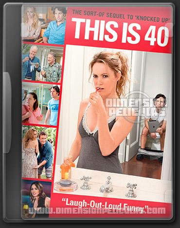 This Is 40 (BRRip HD Ingles Subtitulada) (2012)