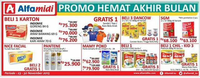 Katalog Promo Alfamidi Akhir Bulan 23-30 November 2015