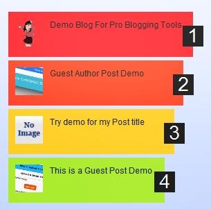 wygląd popularnych postów