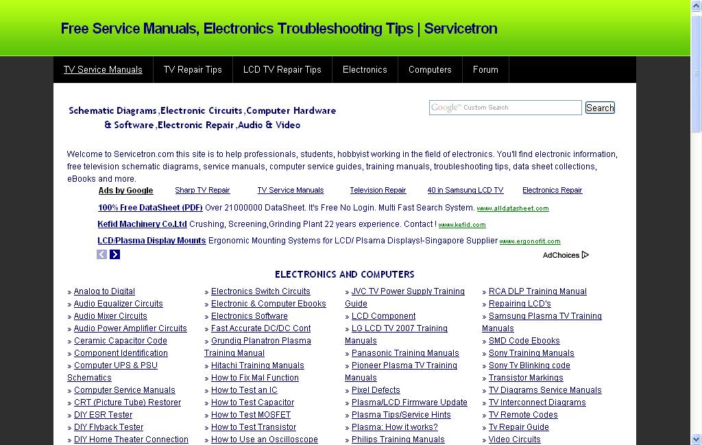 Xcb2rtech  Free Service Manual Website