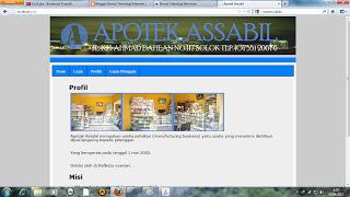 sistem informasi penjualan apotik dengan php