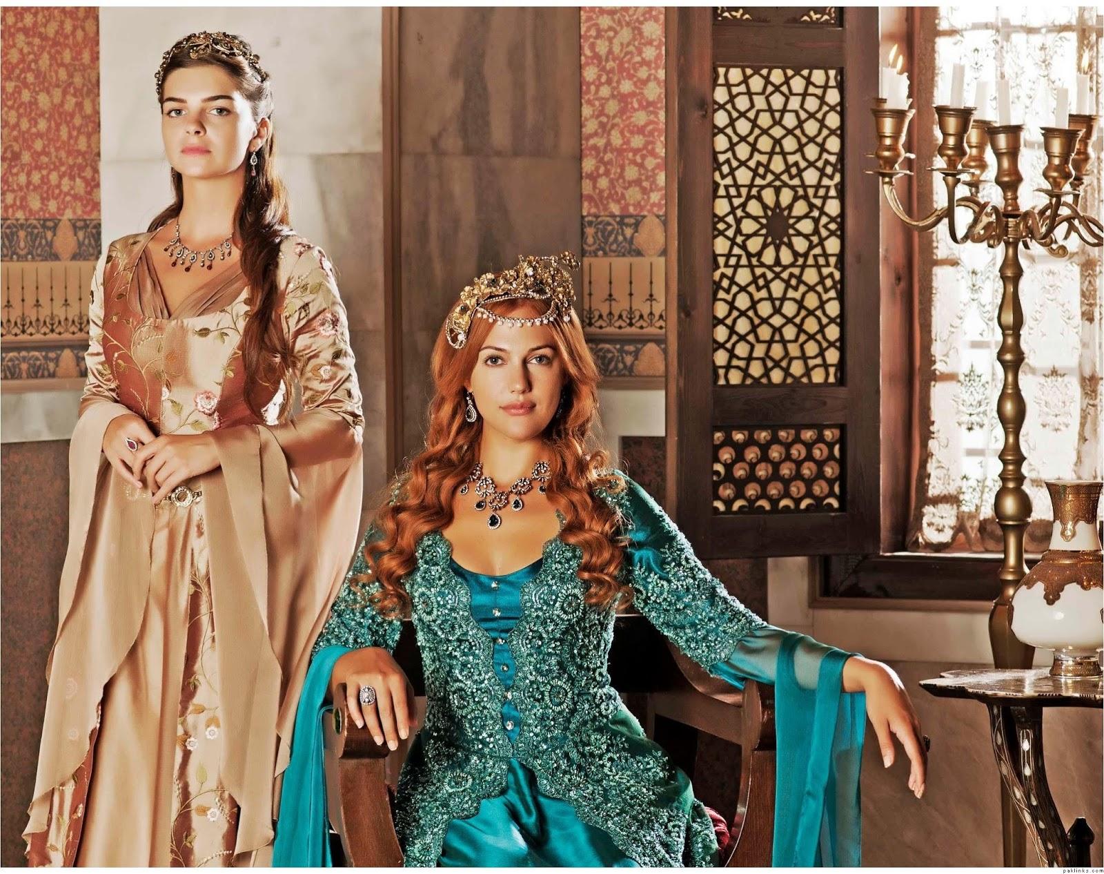 Meryem Uzerli Hurrem Dresses