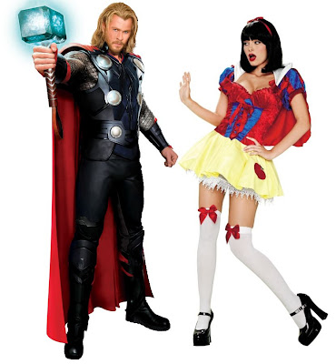 Chris Hemsworth as Thor and a slutty Snow White