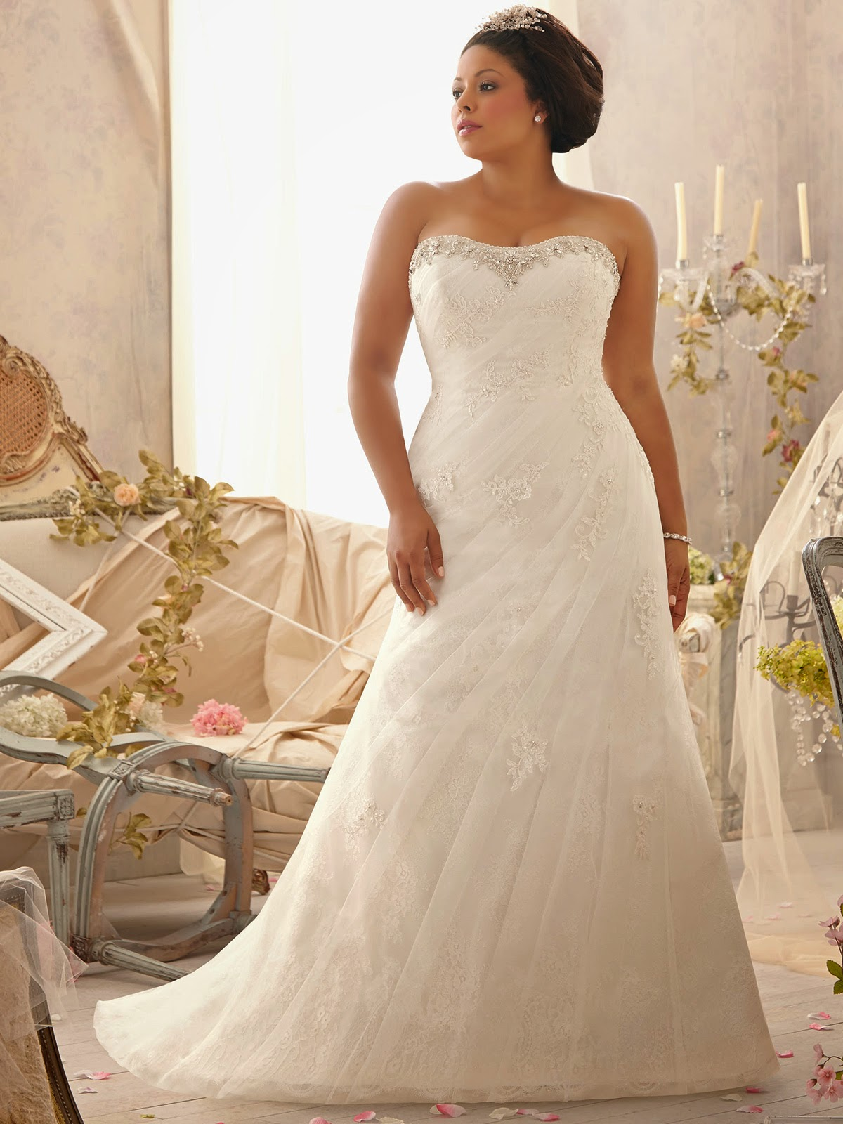 Busty Brides Plus Size Wedding Gowns Bridal Wedding And Prom Ideas