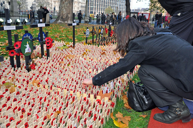 Remembrance Day Observance, Westminster Abbey, London
