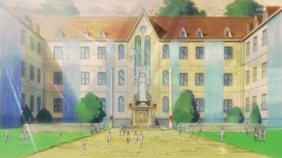 Saint Seiya Omega Palestra school