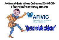ACCIÓN SOLIDARIA 2018/19  3.580 A FAVOR DE AFIVIC