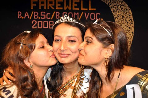 Priya is Miss Patna Womens College