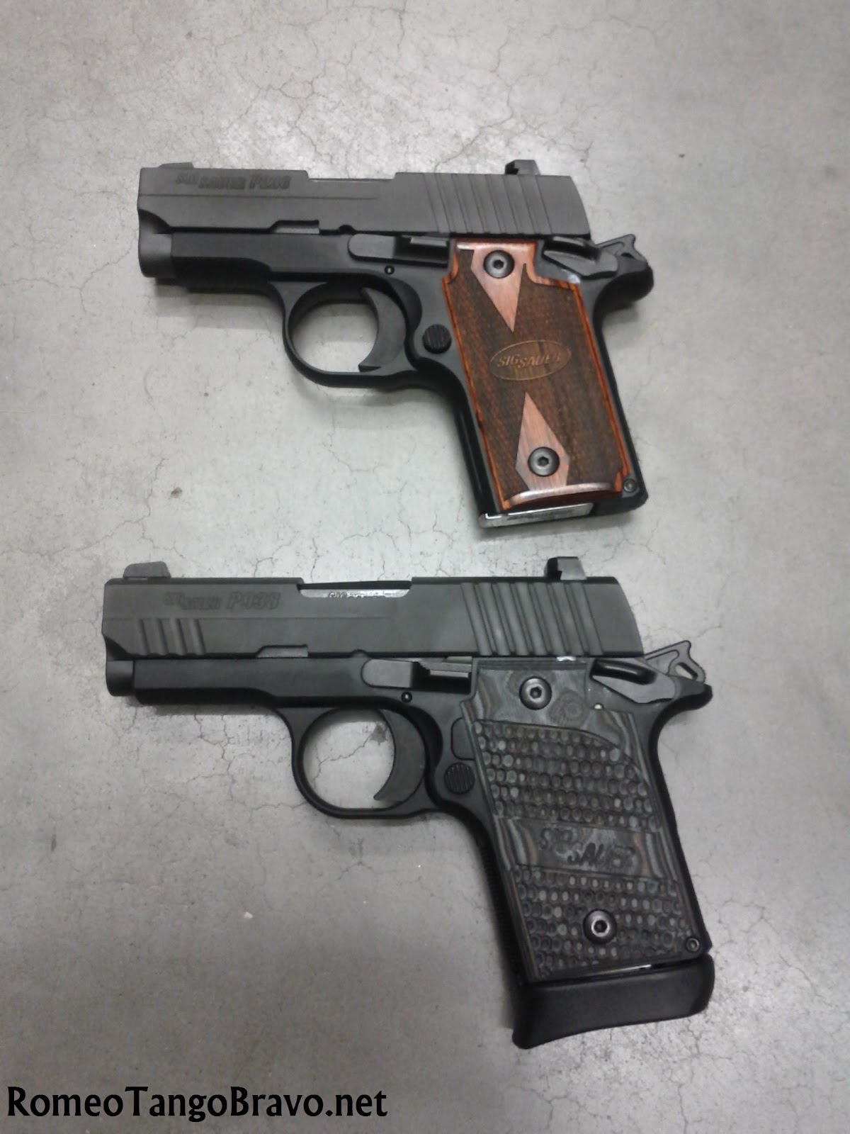 RomeoTangoBravo ...M And P Shield Vs Glock 26