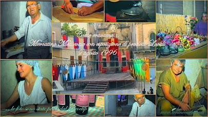 Come eravamo... Mercatino medievale con esposizione  di prodotti locali - 9 agosto 1996