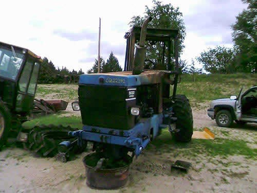 ford tractor salvage 9030