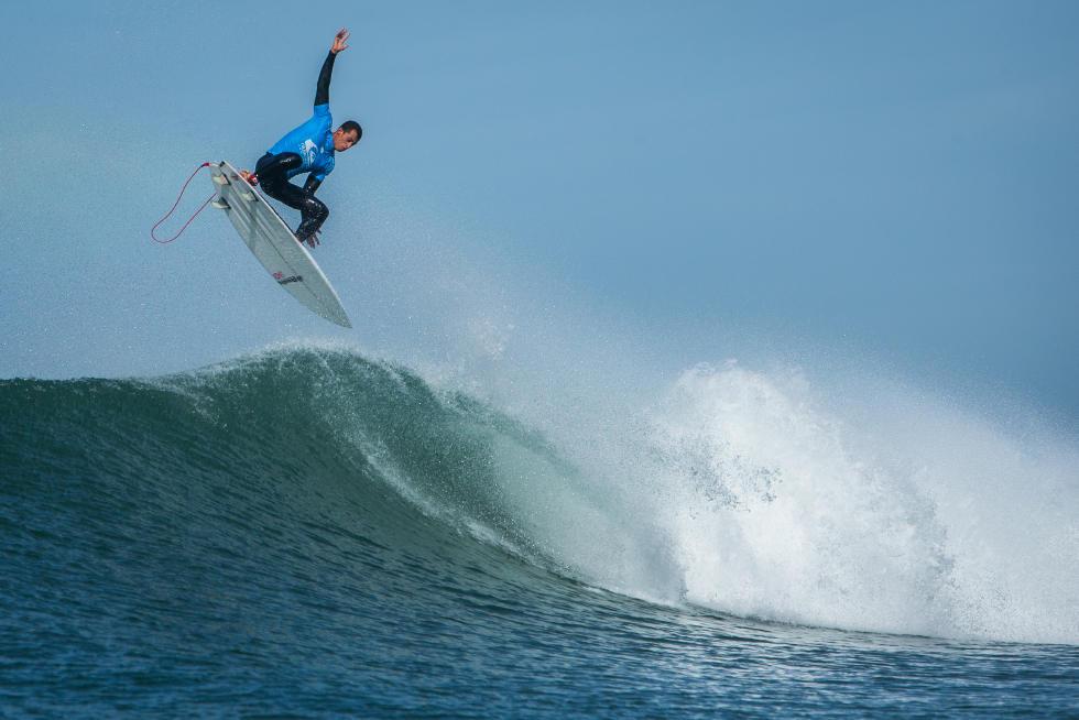 20 Maxime Huscenot FRA 2015 Quiksilver Pro France Fotos WSL Poullenot Aquashot