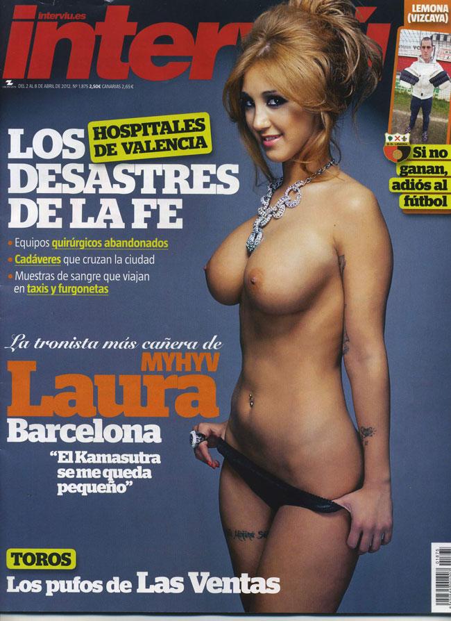 Laura Barcelona E Tronista De Myhyv Se Desnuda Para Interviu