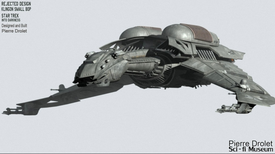 Klingon Ship Into Darkness Into Darkness  almost Bird of