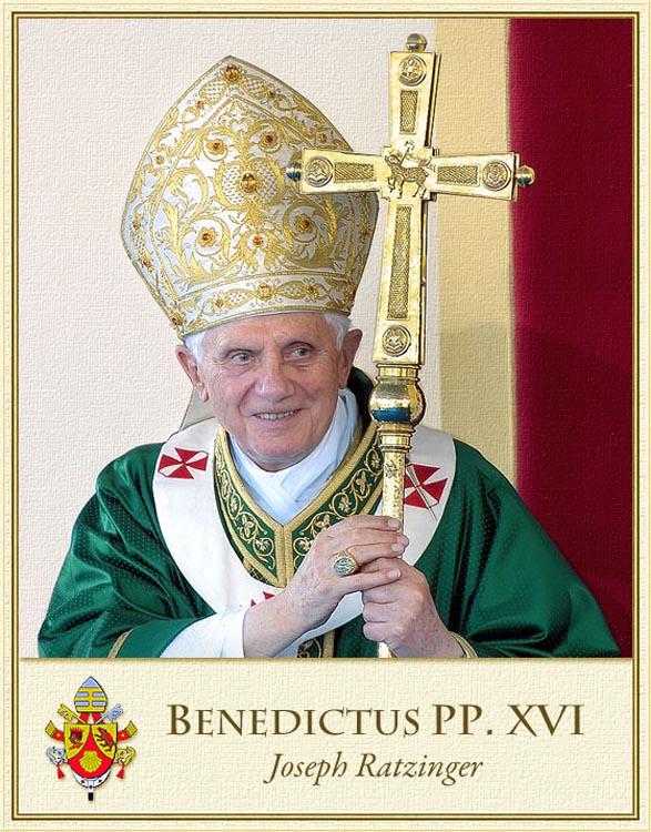 Fedeli & Obbedienti al Santo Padre Benedetto Xvi & aiu Suoi Successori & alla Chiesa Cattolica