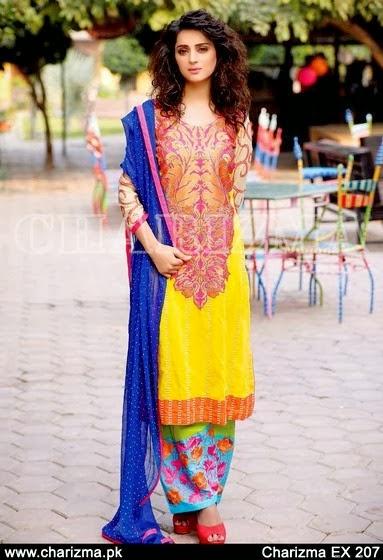 Charizma Printed Lawn Dresses 2014