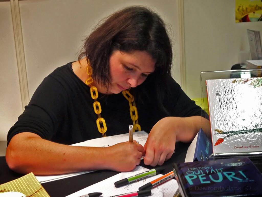 Des ronds dans l 39 o le blog 1er jour au salon du livre for Salon jeunesse