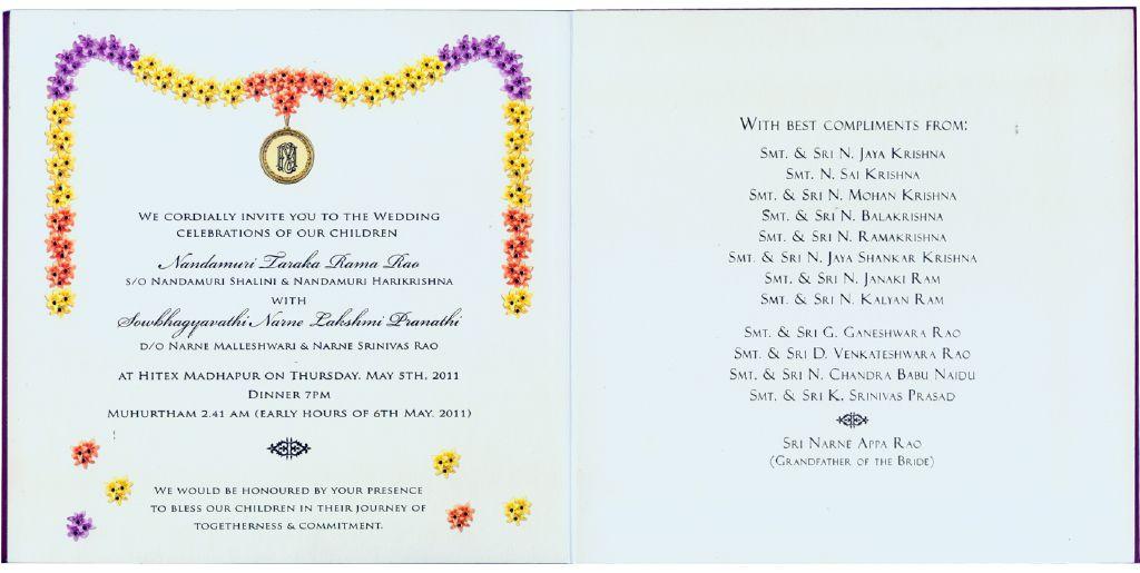 Half Saree Function Invitation Cards In Telugu - Best Custom Invitation Template | PS Carrillo